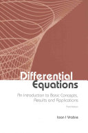 Differential Equations  an Introduction to Basic Concepts  Third Edition  Book