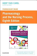 Pharmacology Online For Pharmacology And The Nursing Process