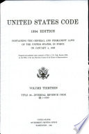 United States Code Book