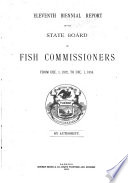 Biennial Report of the State Board of Fish Commissioners