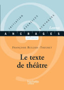 Pdf Le texte de théâtre Telecharger
