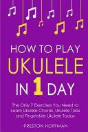 How to Play Ukulele Book