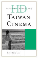 Pdf Historical Dictionary of Taiwan Cinema Telecharger