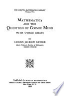 Mathematics and the Question of Cosmic Mind