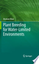 Plant Breeding for Water Limited Environments Book