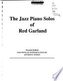 The jazz piano solos of Red Garland