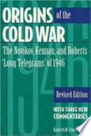 Origins of the Cold War Book PDF
