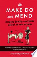 Make Do and Mend Pdf/ePub eBook