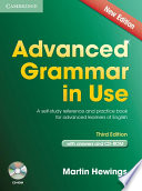 Advanced Grammar in Use Book with Answers and CD-ROM  : A Self-Study Reference and Practice Book for Advanced Learners of English
