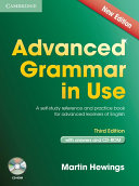 Advanced Grammar in Use Book with Answers and CD-ROM