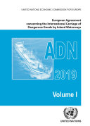 European Agreement Concerning the International Carriage of Dangerous Goods by Inland Waterways  ADN  2019