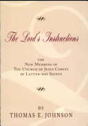 The Lord s Instructions