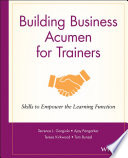 Building Business Acumen for Trainers