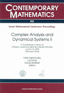 Complex Analysis and Dynamical Systems II