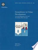 Groundwater in Urban Development