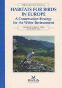 Habitats for Birds in Europe