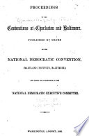 Official Proceedings of the Democratic National Convention