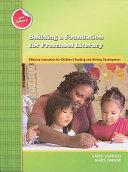 Building A Foundation For Preschool Literacy PDF