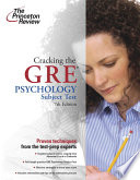 Cracking the GRE Psychology Subject Test