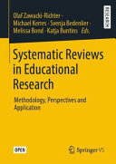 Systematic Reviews in Educational Research