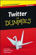 Twitter For Dummies, Mini Edition