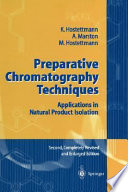Preparative Chromatography Techniques