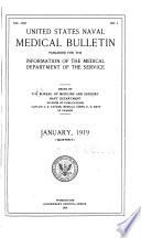 United States naval medical bulletin. v. 13, 1919
