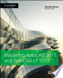 Mastering AutoCAD 2017 and AutoCAD LT 2017 Book