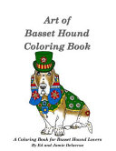 Art of Basset Hound Coloring Book