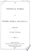 The Poetical Works of Crabbe  Heber  and Pollok
