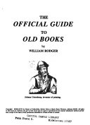 The Official Guide To Old Books