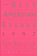 The Best American Essays 1997 Book
