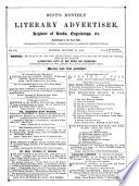 The Monthly Literary Advertiser
