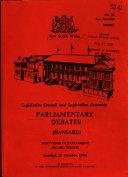 Pdf Parliamentary Debates