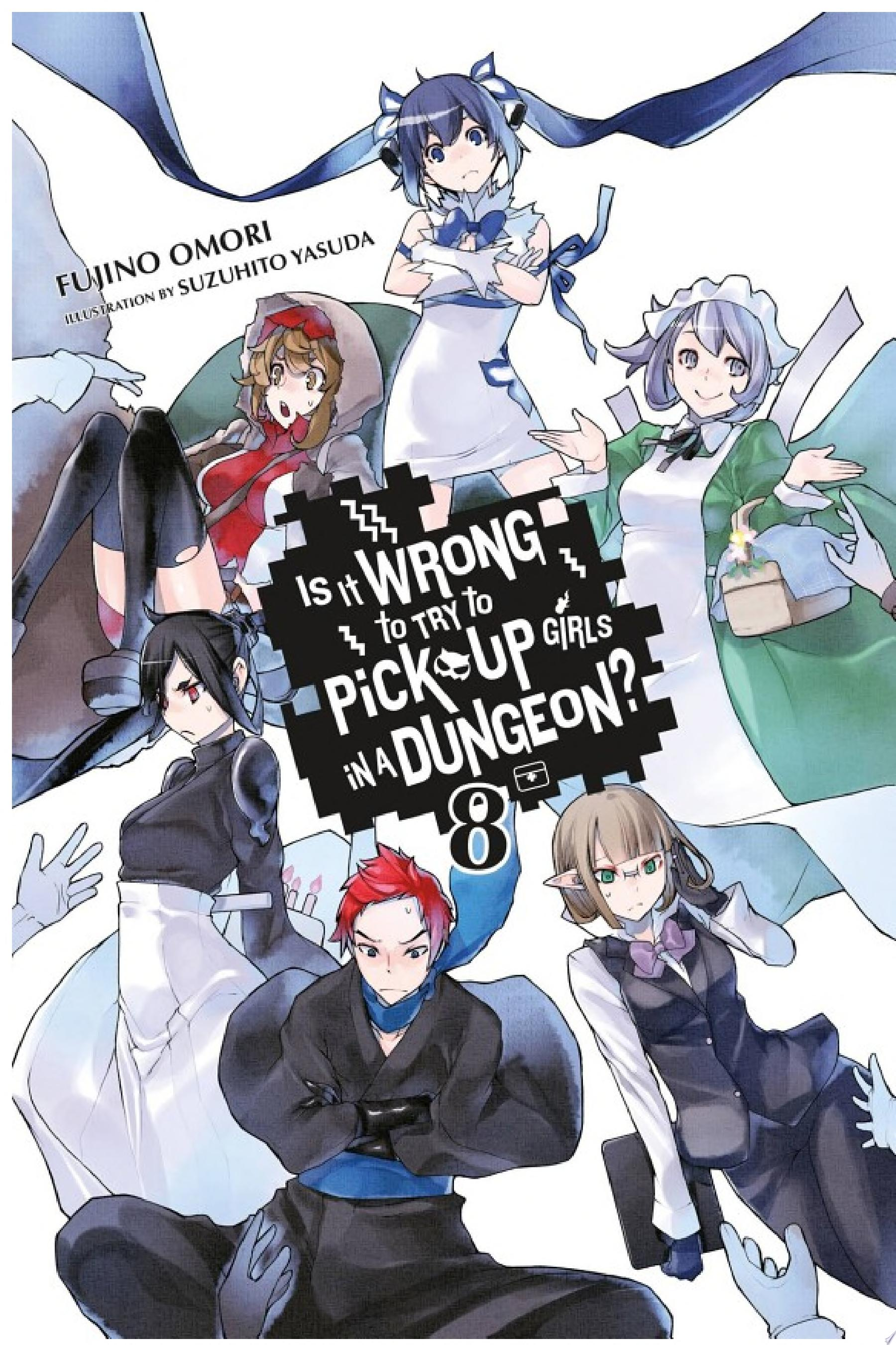 Is It Wrong to Try to Pick Up Girls in a Dungeon   Vol  8  light novel