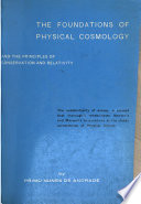 The Foundations of Physical Cosmology and the Principles of Conservation and Relativity