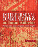 Instructor s Review Copy for Interpersonal Communication and Human Relationships
