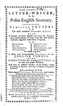 The Complete Letter writer