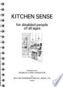 Kitchen Sense for Disabled People of All Ages
