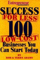 Entrepreneur Magazine S Success For Less Book PDF