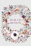 One Line a Day Journal for New Moms