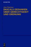 Pdf Pascals Gedanken über Gerechtigkeit und Ordnung Telecharger