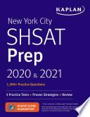 New York City SHSAT Prep 2020   2021