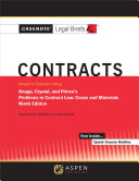 Casenote Legal Briefs for Contracts  Keyed to Knapp  Crystal  and Prince