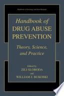 Handbook Of Drug Abuse Prevention Book PDF