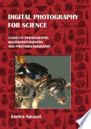 Digital Photography for Science  Hardcover
