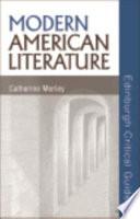 Modern American Literature Book PDF