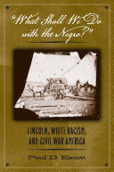 """What Shall We Do with the Negro?"": Lincoln, White Racism, ..."