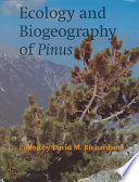 Ecology and Biogeography of Pinus