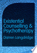 Existential Counselling and Psychotherapy